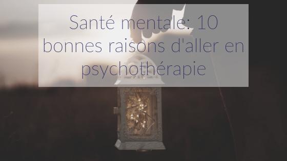 psychothérapie