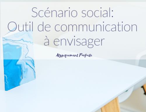 Scénario social: Un outil de communication à envisager