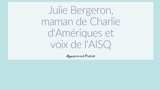 AISQ et Julie Bergeron travaillent ensemble pour promouvoir l'intégration sociale et l'inclusion des gens vivant avec une déficience intellectuelle. Maman d'une belle humain portant la trisomie 21, Julie nous raconte son quotidien et sa mission de vie. #inclusion #intégration #trisomie21 #déficienceintellectuelle #aisq